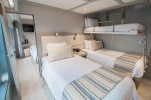 boat cabin 3 beds
