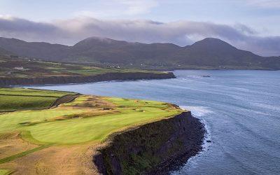 Epic Irish golf | LUXURY RVs | Live music set in a cave 3 football fields long